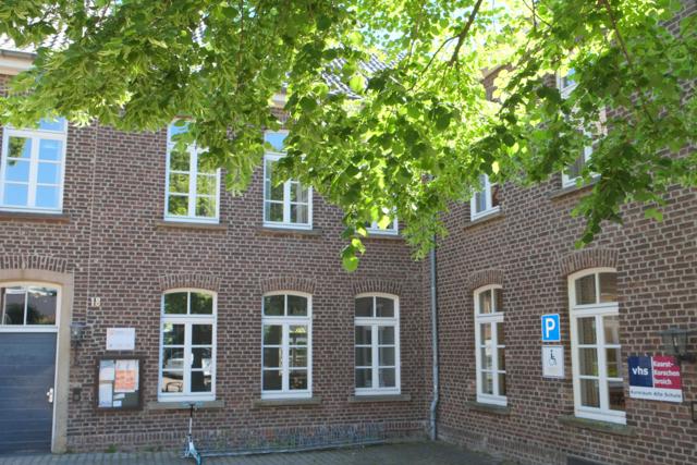 Eingangsbereich der Alten Schule an der Steinstraße