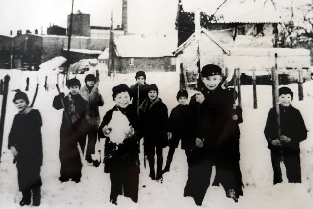 Strenger Winter in Glehn 1946/47