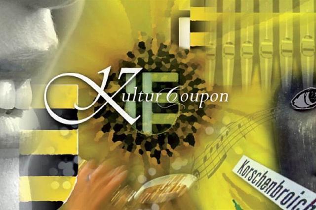 Deckblatt Gutschein Kultur Coupon gestaltet von Alexandra Böttges