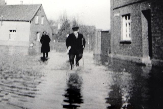 Hochwasser in Glehn 1947