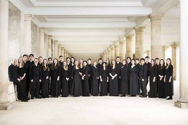 Gruppenbild: Trinity College Choir Cambridge